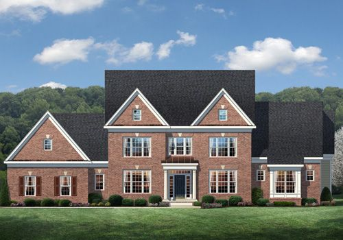 Single Family for Sale at Waterford Creek-The Pinehurst 16146 Waterford Creek Circle Hamilton, Virginia 20158 United States