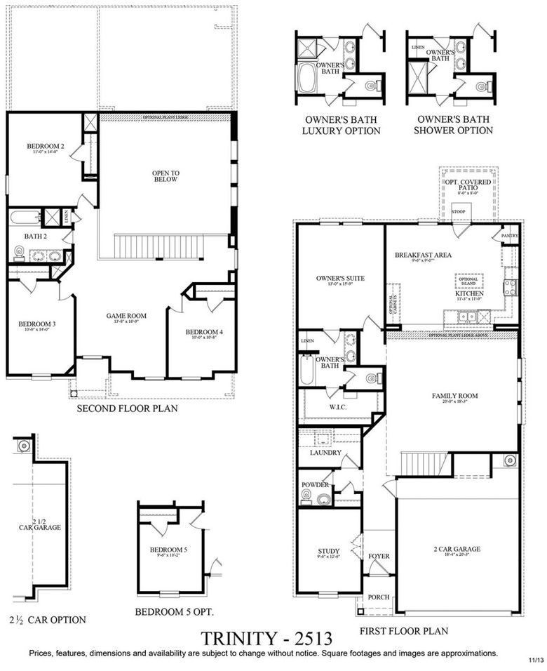 Trinity plan at cantarra in pflugerville texas 78660 by for Trinity homes floor plans