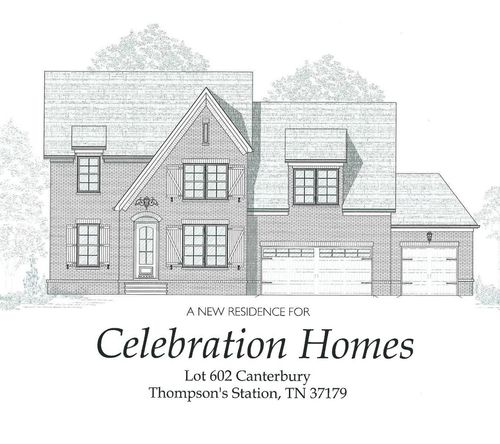 The Fields of Canterbury by Celebration Homes in Nashville Tennessee