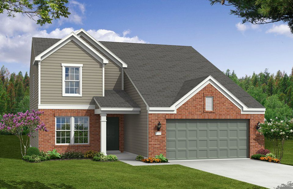 Oxford - Persimmon Grove: Indianapolis, IN - Centex Homes