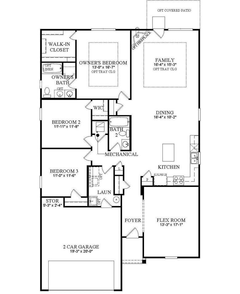 Centex homes floor plans 2006 for Mn home builders floor plans