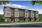 Residence One - The Parks at Laurel Oaks - Townhomes: Hillsboro, OR - Centex Homes