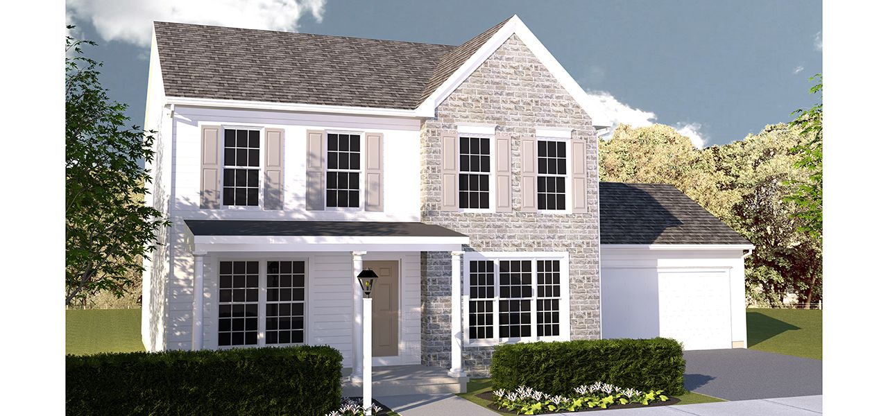 Alden model at 309 berry street Home builders central pa