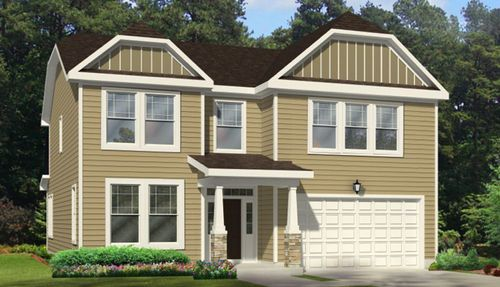 Langston Ridge by Chesapeake Homes in Raleigh-Durham-Chapel Hill North Carolina