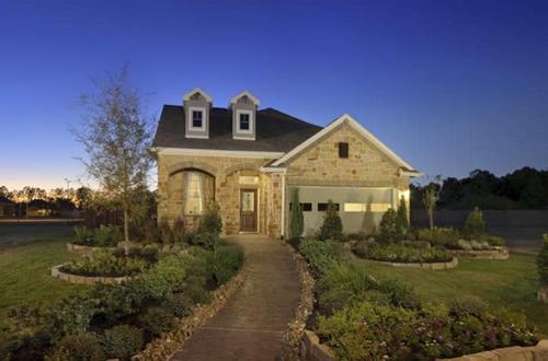 Waterhaven by Chesmar Homes in Houston Texas