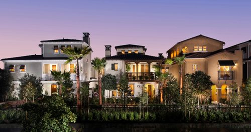 Villas at Pacific Shores by Christopher Homes in Los Angeles California