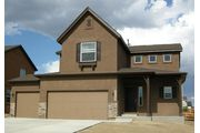 Rushmore w/ basement - Banning Lewis Ranch: Colorado Springs, CO - Classic Homes
