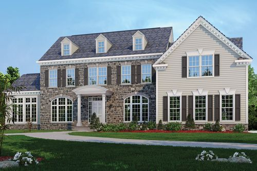Classic Homes of Maryland - Custom Build on Your Lot (Potomac) by Classic Homes of Maryland in Washington District of Columbia
