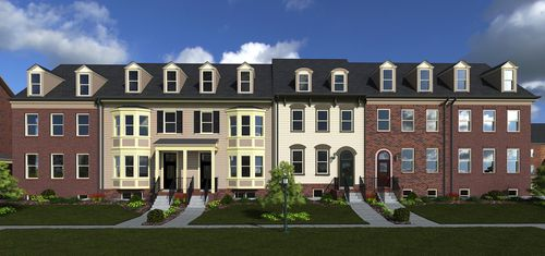 Townes at Maxwell Square by Comstock Homes in Washington District of Columbia