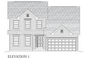 Kennesaw II (Tandem Garage) - Carlton Glen Estates: Wentzville, MO - Consort Homes