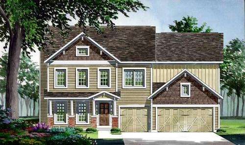 Countryshire Estates by Consort Homes in St. Louis Missouri