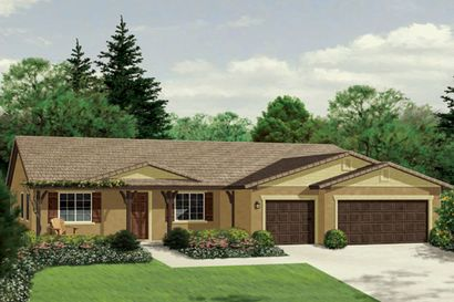 Sanibel at Bridgeton by Cornerstone Communities in Bakersfield California