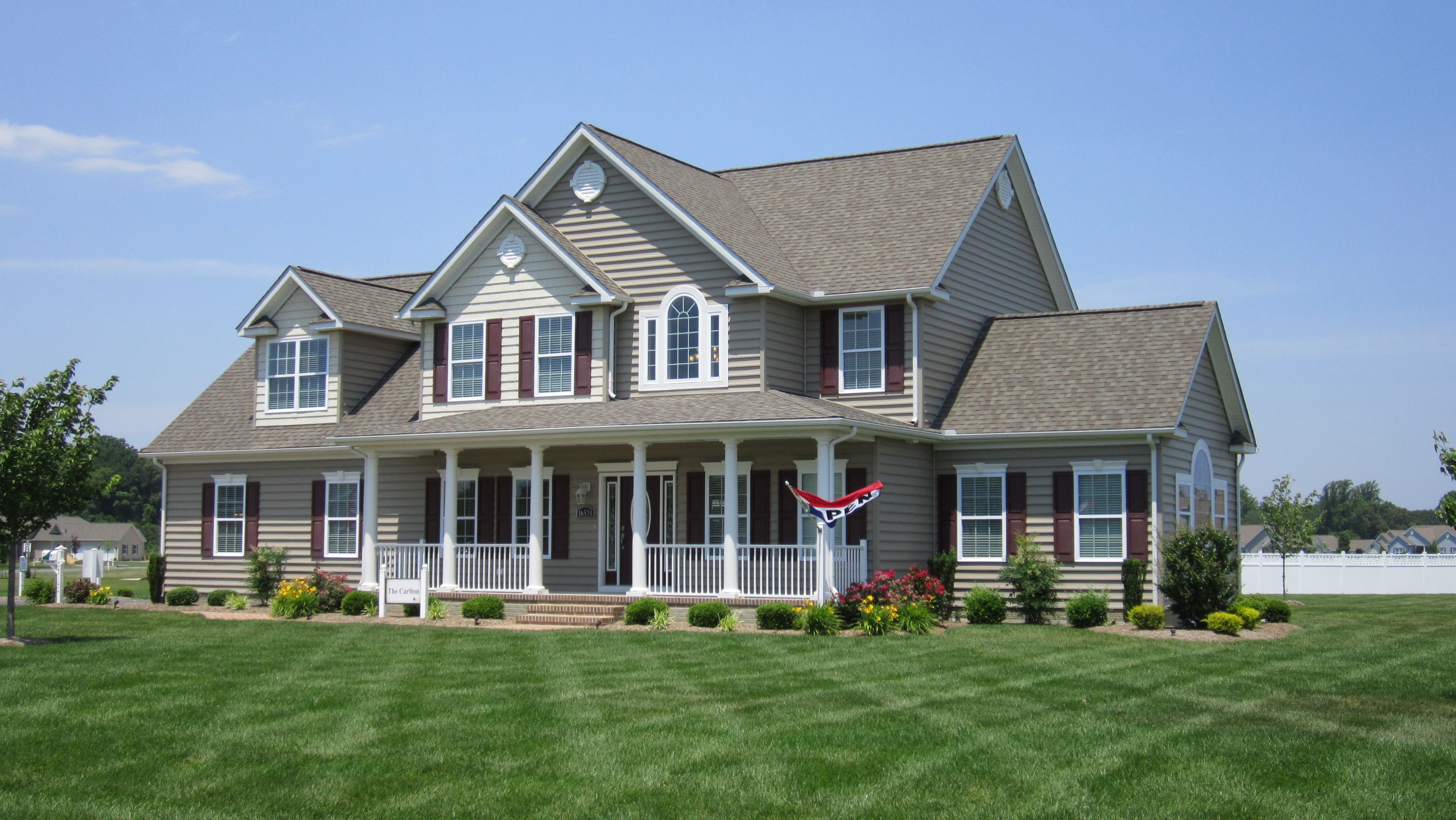 River rock run new homes in milton de by country life homes for Milton home builders