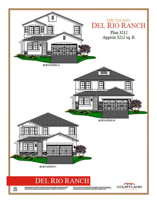 Rimrock at Del Rio Ranch by Courtland Communities in Phoenix-Mesa Arizona
