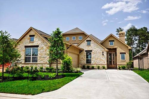 The Woodlands - Timarron Lakes by Coventry Homes in Houston Texas