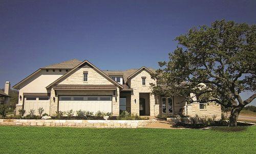 Rancho Sante Fe by Coventry Homes in Austin Texas