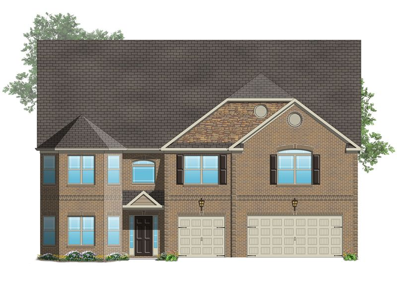 Roosevelt III - Hampton Oaks: Fairburn, GA - Crown Communities
