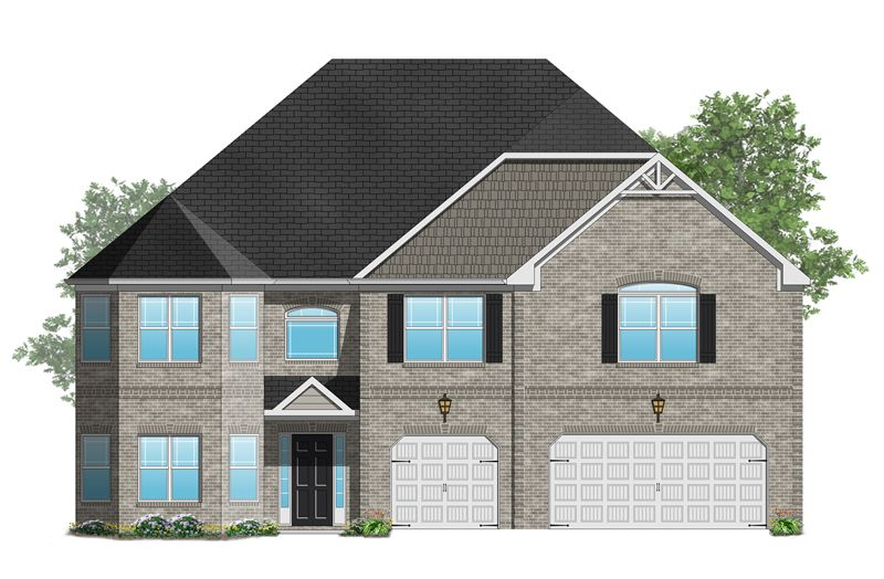 Roosevelt II - Hampton Oaks: Fairburn, GA - Crown Communities