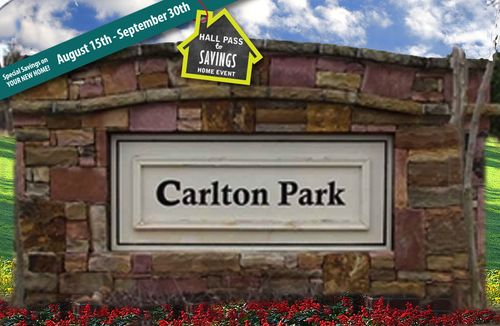 house for sale in Carlton Park by Dan Ryan Builders