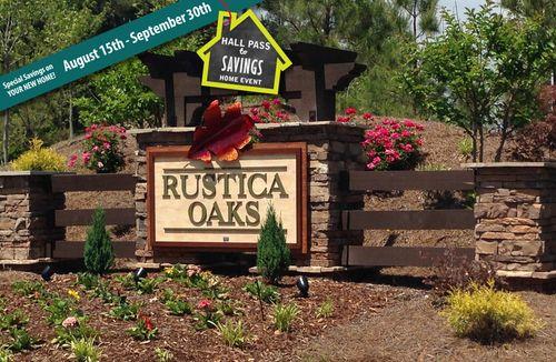 Rustica Oaks by Dan Ryan Builders in Raleigh-Durham-Chapel Hill North Carolina