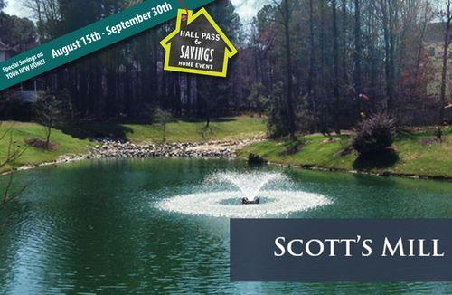 house for sale in Scotts Mill by Dan Ryan Builders