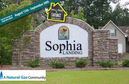 Sophia Landing by Dan Ryan Builders in Charleston South Carolina