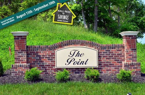 house for sale in The Point by Dan Ryan Builders