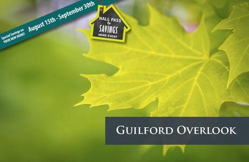 Guilford Overlook by Dan Ryan Builders in Baltimore Maryland