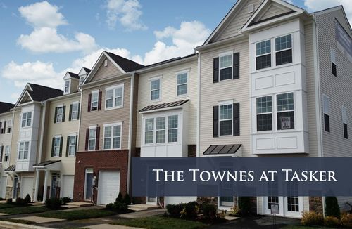 The Townes at Tasker by Dan Ryan Builders in Washington District of Columbia