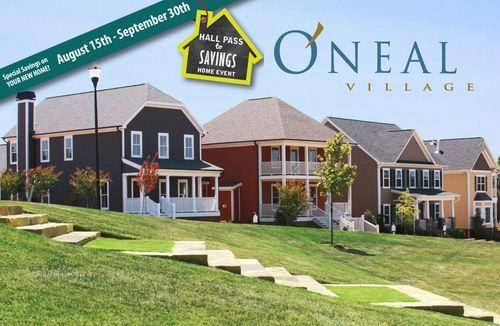 house for sale in ONeal Village by Dan Ryan Builders