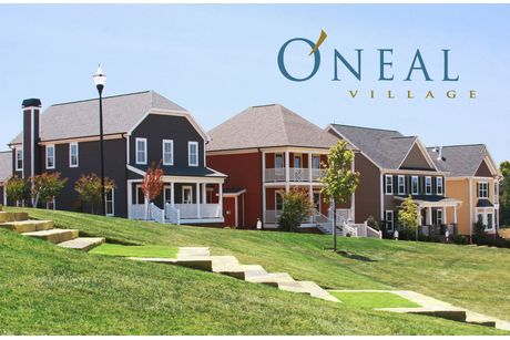 Oneal village in greer sc new homes floor plans by dan for Home builders greer sc
