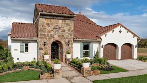 Riverstone Luxury Patio by Darling  Homes in Houston Texas