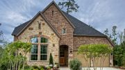 homes in Lakeside DFW 55s by Darling Homes
