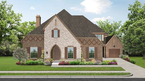 Fairways at Gentle Creek 82s by Darling Homes in Dallas Texas