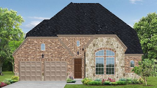 Windsong Ranch 61s by Darling Homes in Dallas Texas