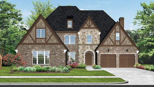 The Tribute - The Glen Phase II by Darling Homes in Dallas Texas