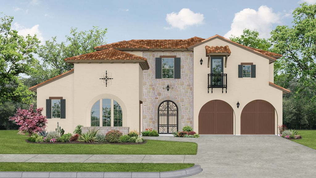 darling homes newman village patio 6781 plan 1060630