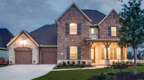 Creekside Park, Wooded Overlook by Darling  Homes in Houston Texas