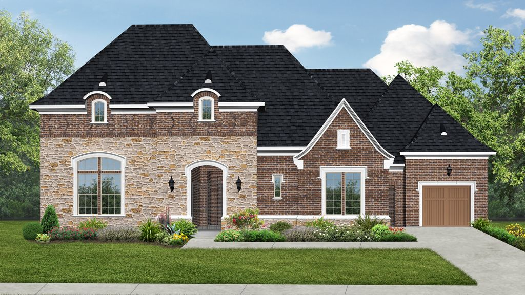 Single Family for Sale at Newman Village Renaissance - 8009 Plan 12522 Riverhill Road Frisco, Texas 75033 United States