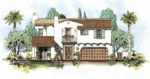 New Crest Court by Davidson Communities in San Diego California