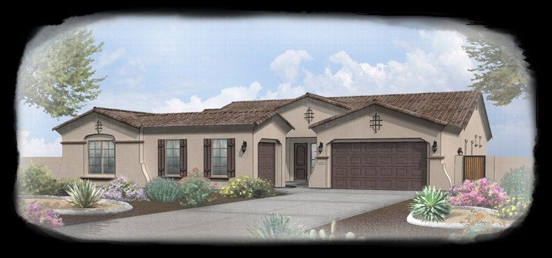 Catalina - Blackstone at Vistancia: Peoria, AZ - David Weekley Homes
