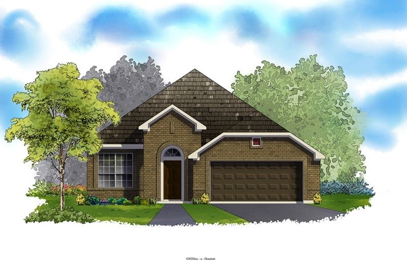 The Begonia - Build on Your Lot - West University/Bellaire: Bellaire, TX - David Weekley Homes