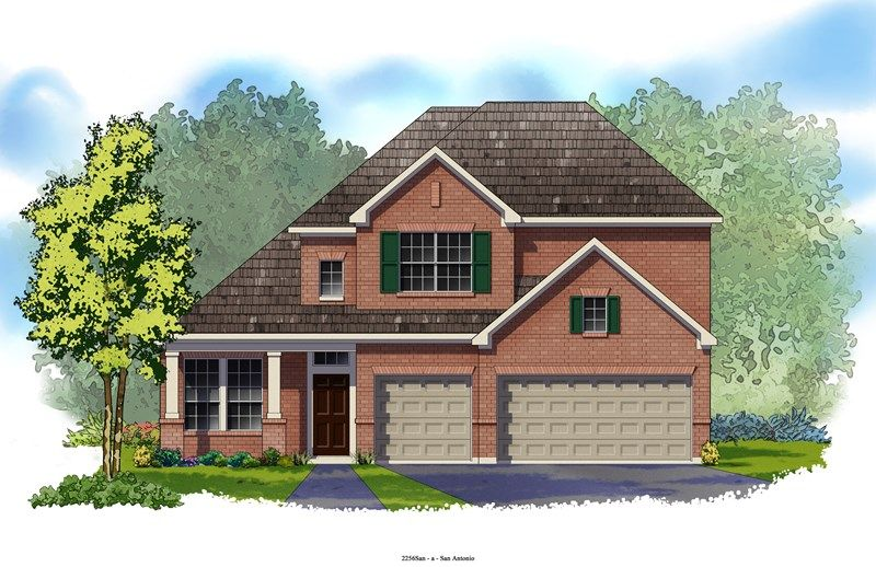 Sophia - The Preserve at Alamo Ranch 55' & 70': San Antonio, TX - David Weekley Homes