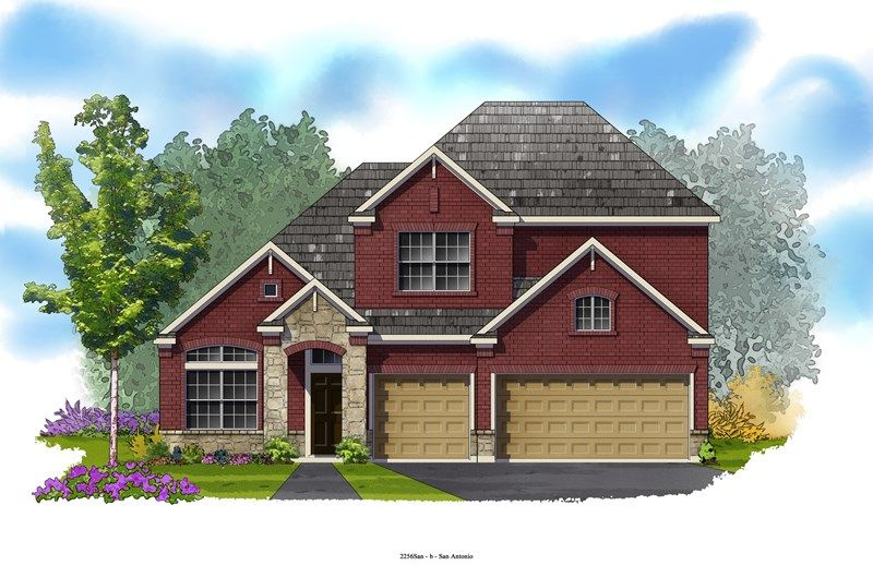 Sophia - Kinder Ranch 55': San Antonio, TX - David Weekley Homes