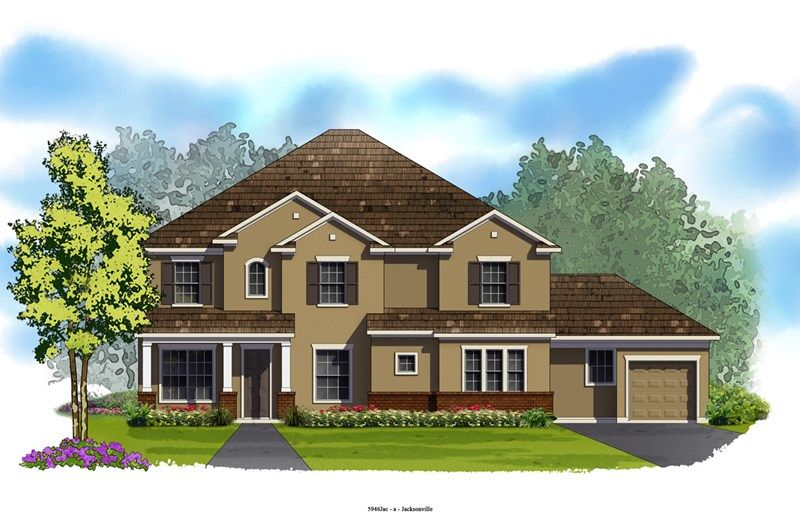 Rockwood - Cross Creek: Jacksonville, FL - David Weekley Homes