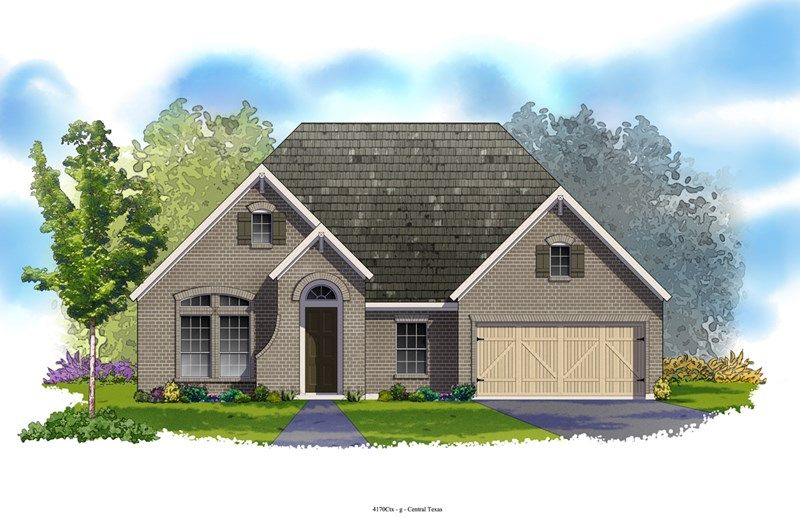 Western - The Preserve at Alamo Ranch 55' & 70': San Antonio, TX - David Weekley Homes