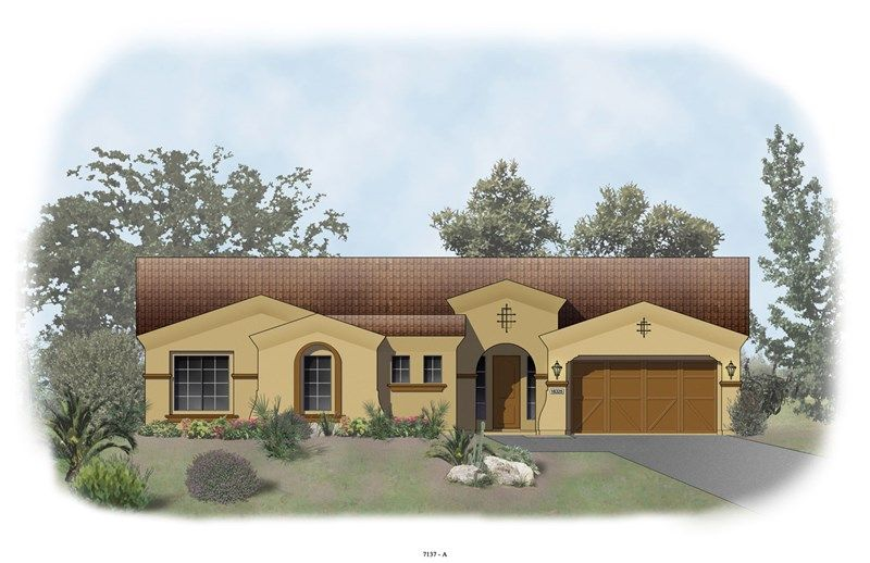 Tucson - Blackstone at Vistancia: Peoria, AZ - David Weekley Homes