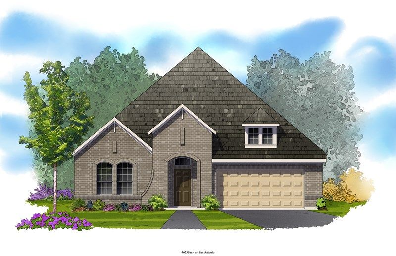 Essence - Kinder Ranch 55': San Antonio, TX - David Weekley Homes