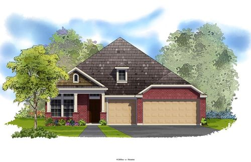The Falls - Edgewater by David Weekley Homes in Houston Texas