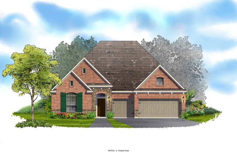 Stoneridge - Mayfield Ranch - Parkside: Round Rock, TX - David Weekley Homes